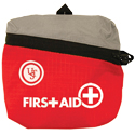 Ultimate Survival Technologies FeatherLite First Aid Kit 1.0 - Includes Bandages and Medicine - Red (80-30-1450)
