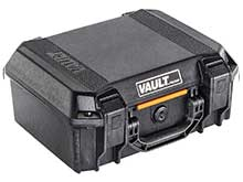 Pelican V200 Vault Medium Hard Case - With Foam - Black