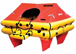 Revere Offshore Elite 4 Person Liferaft - Container Pack - No Cradle Included (45-OE4C)