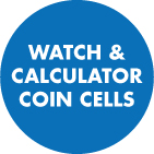 Watch, Calculator Batteries Coin Cells 301 to 399 Silver Oxide