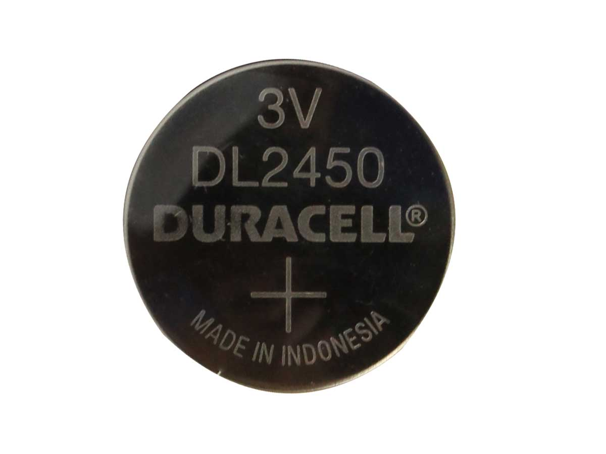 Single Duracell DLCR2450 Battery
