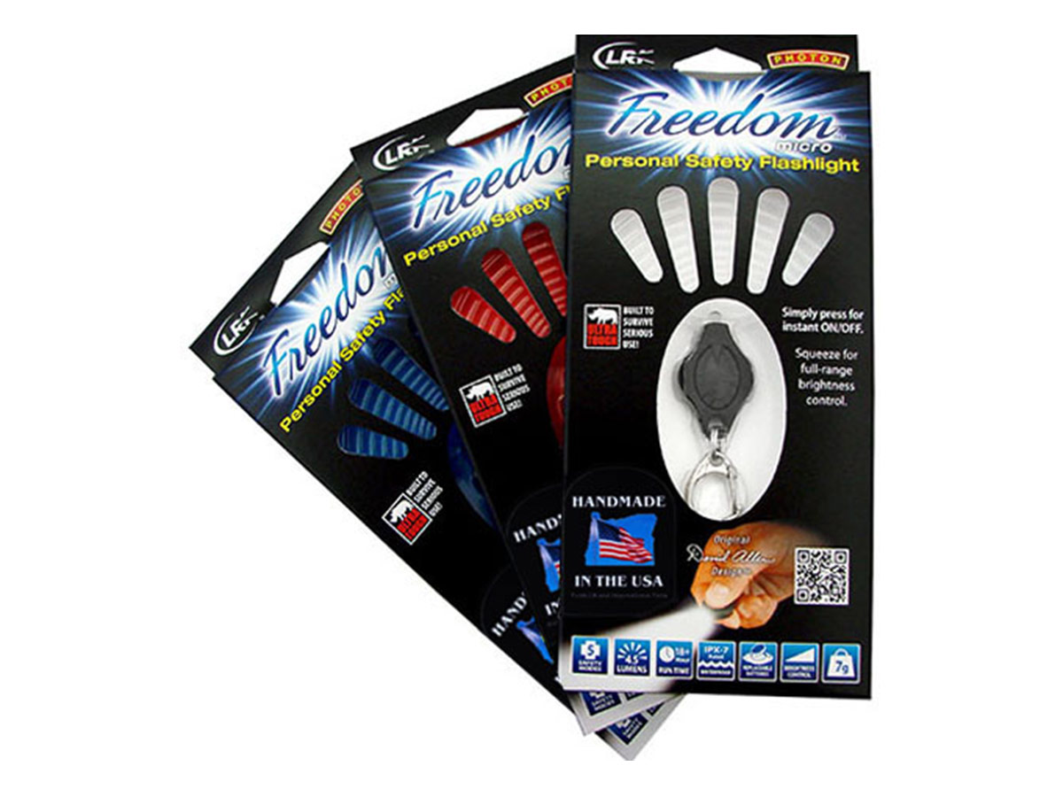 Photon Freedom Micro Infrared Key Light Packaging