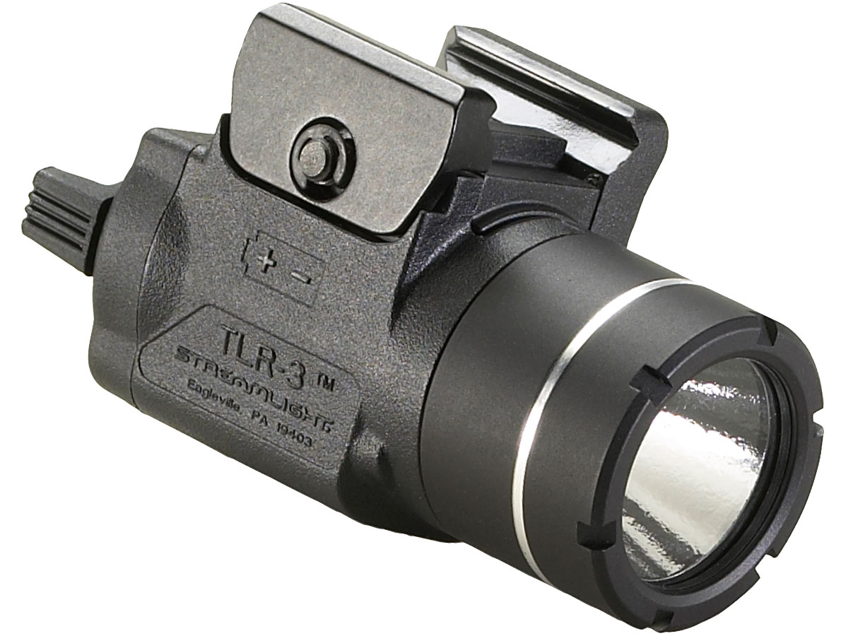 Angle Shot of the Streamlight TLR-3
