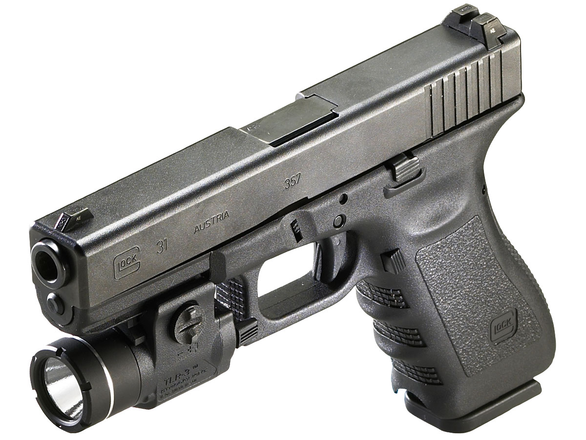 Streamlight TLR-3 Mounted on Glock