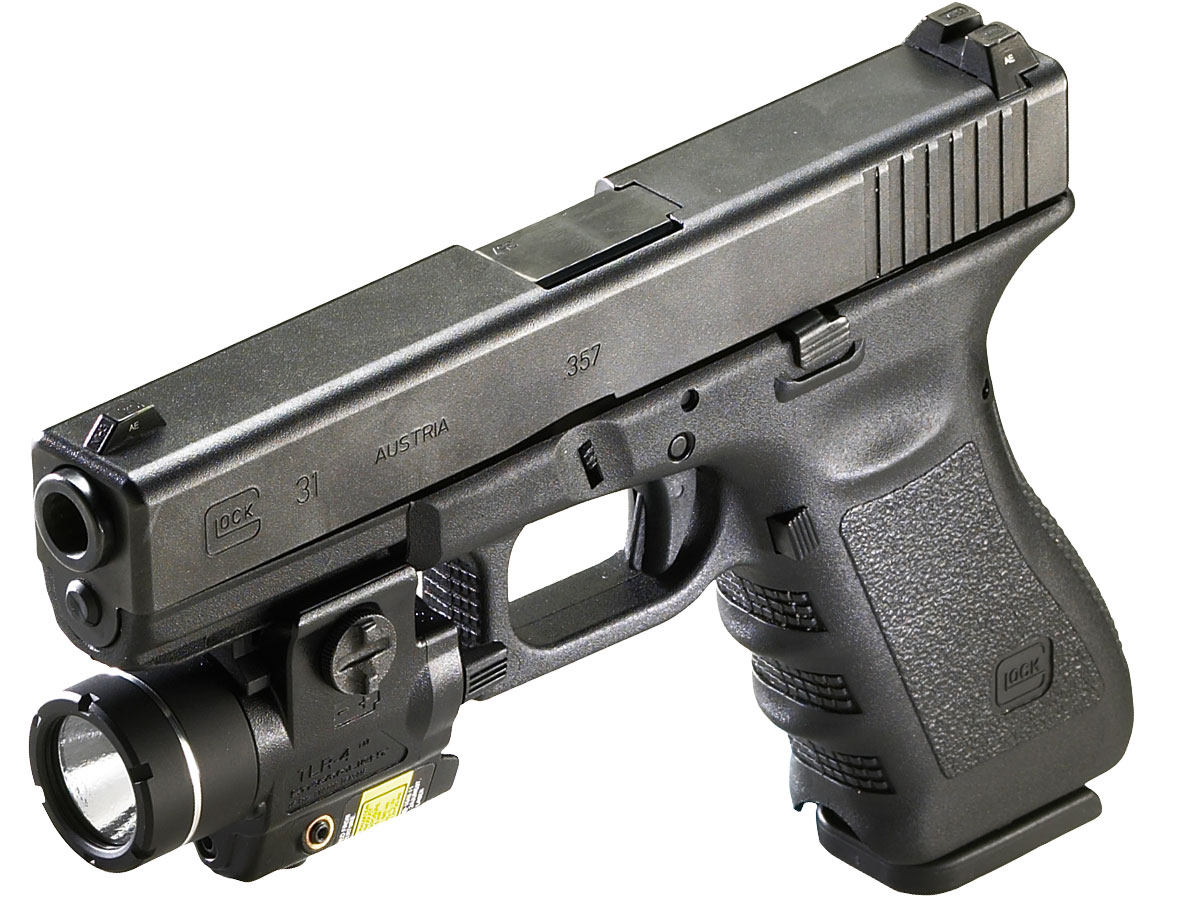 Streamlight TLR-4 Mounted on Glock