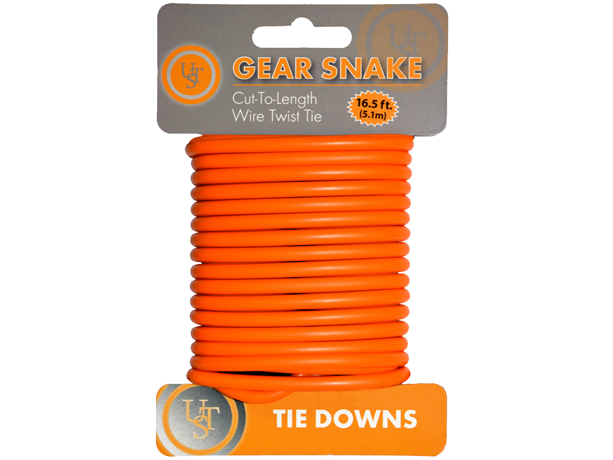 Bendable Wire Twisty Tie 2-Pack Ultimate Survival Technologies Gear Snake GLO