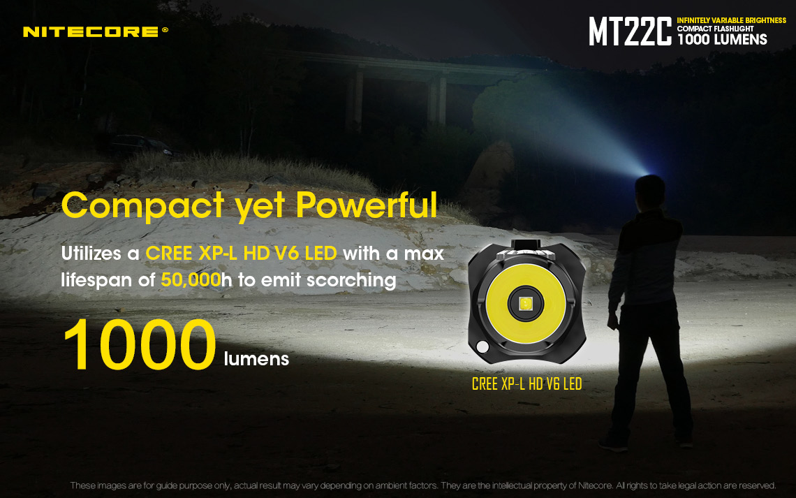 Nitecore MT22C compact yet powerful