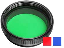Klarus FT11S Flashlight Filter - Fits 1.37-inch (35mm) XT11, XT11S, XT11GT, and XT12S - Red, Blue, or Green