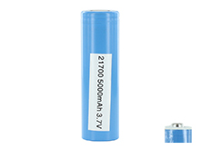 Samsung 50E INR 21700 5000mAh 3.7V High-Drain 10A Lithium Ion (Li-ion) Unprotected Flat Top or Protected Button Top Battery