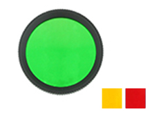 Acebeam FR30 Filter for EC50 Gen II, EC60 and L16 - Green, Orange, or Red