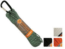 Ultimate Survival Technologies Paracord 550 Hank - 30 Feet -  Camo, GLO, Black or Orange