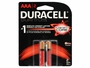 2 Duracell Quantum AAA batteries in retail card