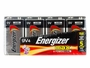 Energizer Max 9V alkaline battery in 4 piece family packaging