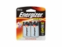 Energizer Max 9V alkaline battery in 2 piece retail card