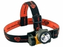 Angle view of the elastic head strap version of the headlamp