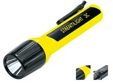 Streamlight 3C ProPolymer Lux Div 1 Safety-Rated Flashlight -  Super High Flux Luxeon LED - 44 Lumens - Uses 3 x C Cells - Yellow