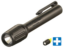 Streamlight 2AAA ProPolymer HAZ-LO Flashlight - 1 x C4 LED - 60 Lumens - Includes 2 x AAA Alkaline Batteries - Black or Yellow