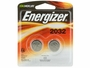 2 Energizer CR2032 coin cells in retail card