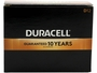 Box of 12 Duracell MN1300 D-cell Batteries