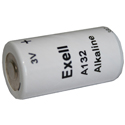 Exell A132 3V Alkaline Industrial Battery for Military Night Vision Binoculars - Replaces E132N
