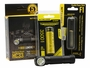 Nitecore HC33 headlamp packaging with battery and F1 charger