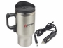 12V Double Wall Stainless Steel Travel Mug with cord