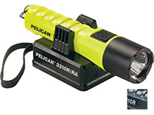 Pelican 3310R Rechargeable LED Flashlight - 1067 Lumens - Includes 1 x 18650 - Various Colors
