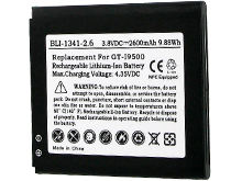 Empire BLI-1341-2-6 2600mAh 3.8V Replacment Lithium Ion (Li-Ion) Battery for the Samsung Galaxy S4 / ATIV SE Smartphones
