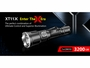 Klarus XT11X Rechargeable LED Flashlight slide from manufacturer