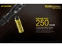 Nitecore MH25GTS LED Flashlight single hand operation