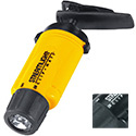 Streamlight ClipMate Clip-on Headlamp with Optional Elastic Strap - 3 x White LEDs - 27 Lumens - Includes 3 x AAAs - Yellow (61101) or Black (61101)