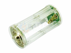 Titanium Innovations Battery Adapter - Converts 3AA Cells to 1D size - in PARALLEL - outputs 1.5V