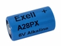 Exell A28PX 6V battery left side angle