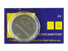 Panasonic CR2412 100mAh 3V Lithium (LiMNO2) Coin Cell Batteries - 1 Piece Tear Strip, Sold Individually