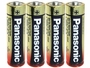 Panasonic Industrial AA Batteries Shrink-Wrapped in Sets of 4
