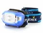 Fenix HL15 headlamp in blue left side angle