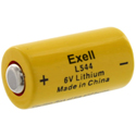 Exell L28PX L544 170mAh 6V Lithium Primary (LiMNO2) Battery