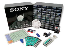 Murata (formerly Sony) Basic Watch Battery Starter Kit