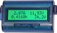 Tenergy Watt's Up RC Watt Meter and Power Analyzer WU100 - Electric Blue (01003)