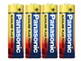Panasonic Alkaline Plus AA Battery - 4 Pack Shrink