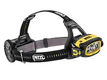 Petzl E80CHR Duo S Rechargeable Headlamp - 1100 Lumens - Includes ACCU 2 3200mAh Li-ion Battery Pack