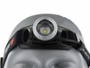 Front view of the headlamp