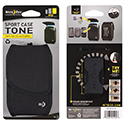 Nite Ize Sport Case Tone Cell Phone Holster - Wide - Black (TSCW-03-01)