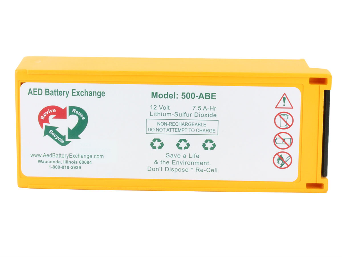 ABE 500 battery front side profile