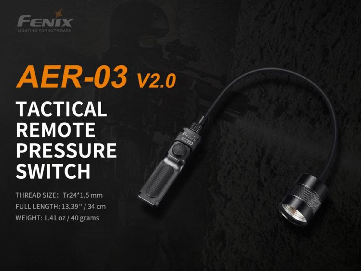 fenix aer-03-v2 pressure switch manufacturer slide about key features and dimensions