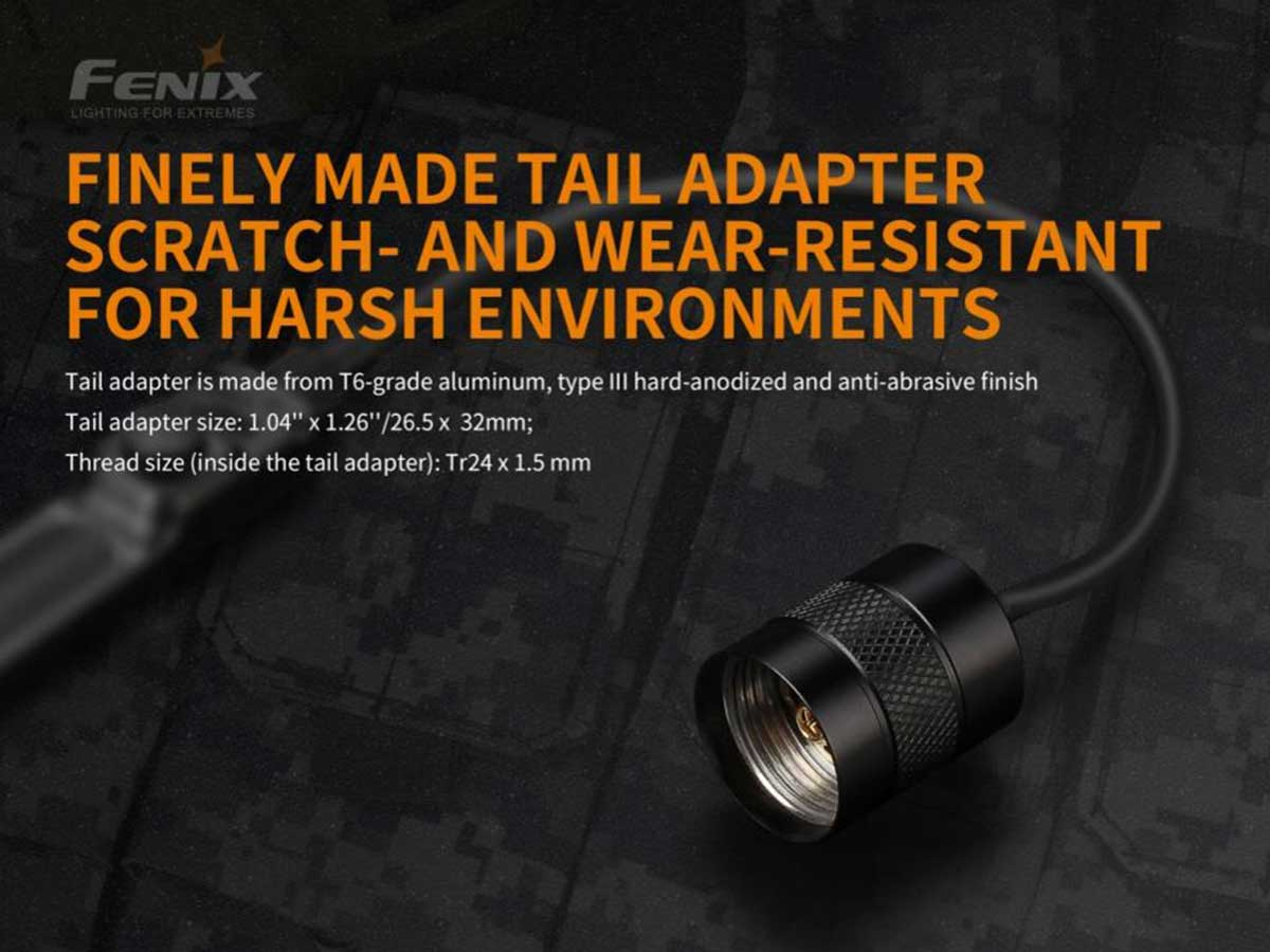 fenix aer-03-v2 pressure switch manufacturer slide about cable dimensions and material