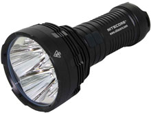 Nitecore Tiny Monster TM16 Flashlight - CREE XM-L (U2) LEDs - Cool or Neutral White - 4000 Lumens - Uses 4 x 18650s