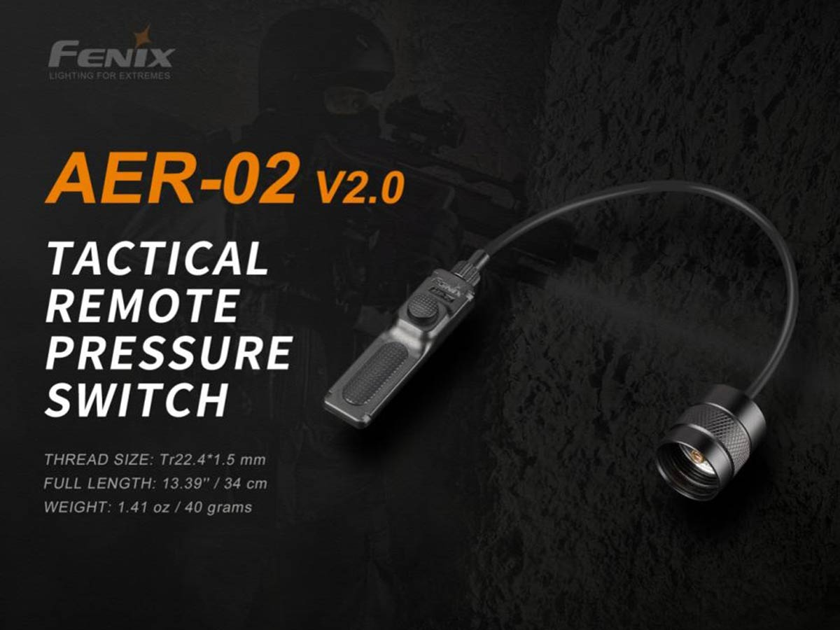 fenix aer-02-v2 pressure switch manufacturer slide about key features and dimensions