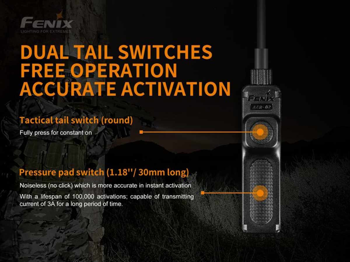 fenix aer-02-v2 pressure switch manufacturer slide about dual tail switch design and functions