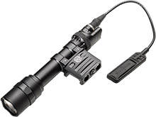 SureFire M612U-BK Ultra Scout Light LED Weapon Light - RM45 Offset Mount Fits Picatinny Railed Guns - 600 Lumens - Includes 2 x CR123As